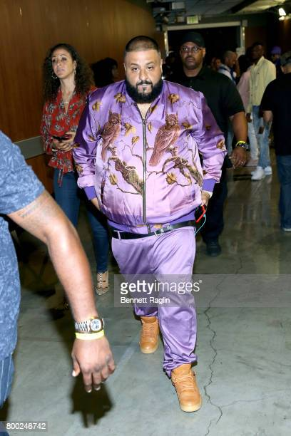 Khaled at night two of the STAPLES Center Concert presented by CocaCola during the 2017 BET Experience at LA Live on June 23 2017 in Los Angeles...