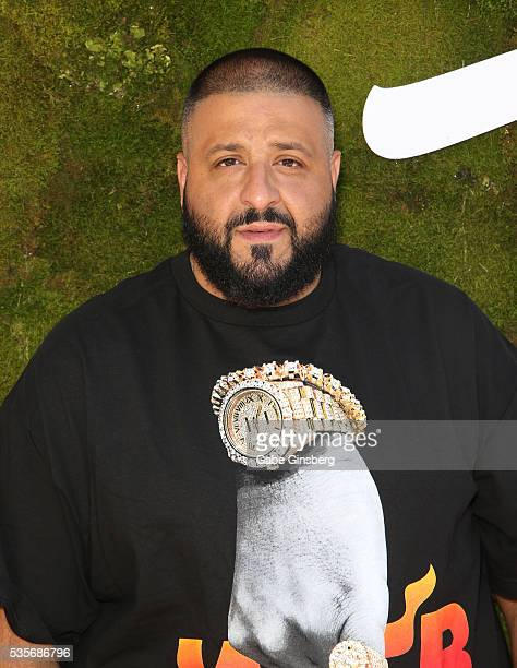 Khaled attends a launch event for the Las Vegas official Snapchat channel at The Venetian Las Vegas on May 29 2016 in Las Vegas Nevada