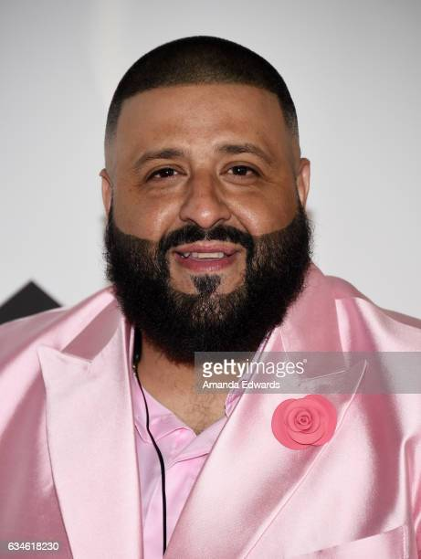 Khaled attends a special press conference where he announced the title of his new album is going to be 'Grateful' at The Beverly Hills Hotel on...