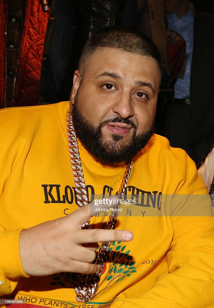 DJ Khaled attends Best Buy Theater on December 18, 2012 in New York, United States.