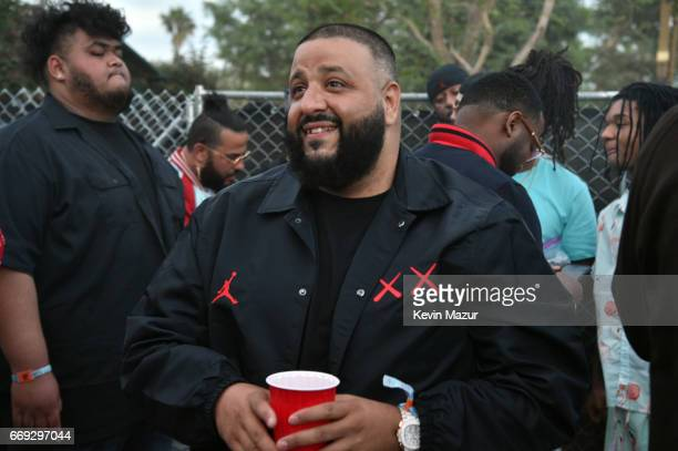 Khaled attends day 3 of the Coachella Valley Music And Arts Festival at the Empire Polo Club on April 16 2017 in Indio California