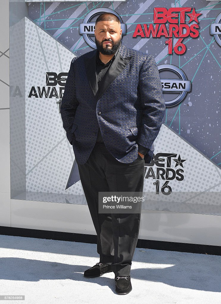 DJ Khaled attends the 2016 BET awards at Microsoft Theater on June 26 2016 in Los Angeles California