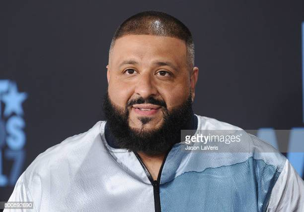 Khaled attends the 2017 BET Awards at Microsoft Theater on June 25 2017 in Los Angeles California