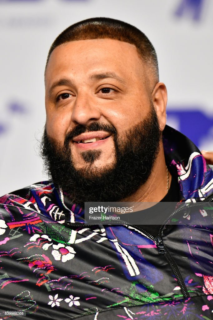 DJ Khaled attends the 2017 MTV Video Music Awards at The Forum on August 27, 2017 in Inglewood, California.