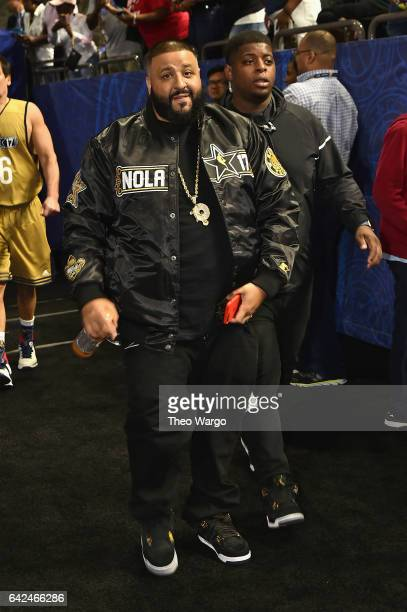 Khaled attends the 2017 NBA AllStar Celebrity Game at MercedesBenz Superdome on February 17 2017 in New Orleans Louisiana