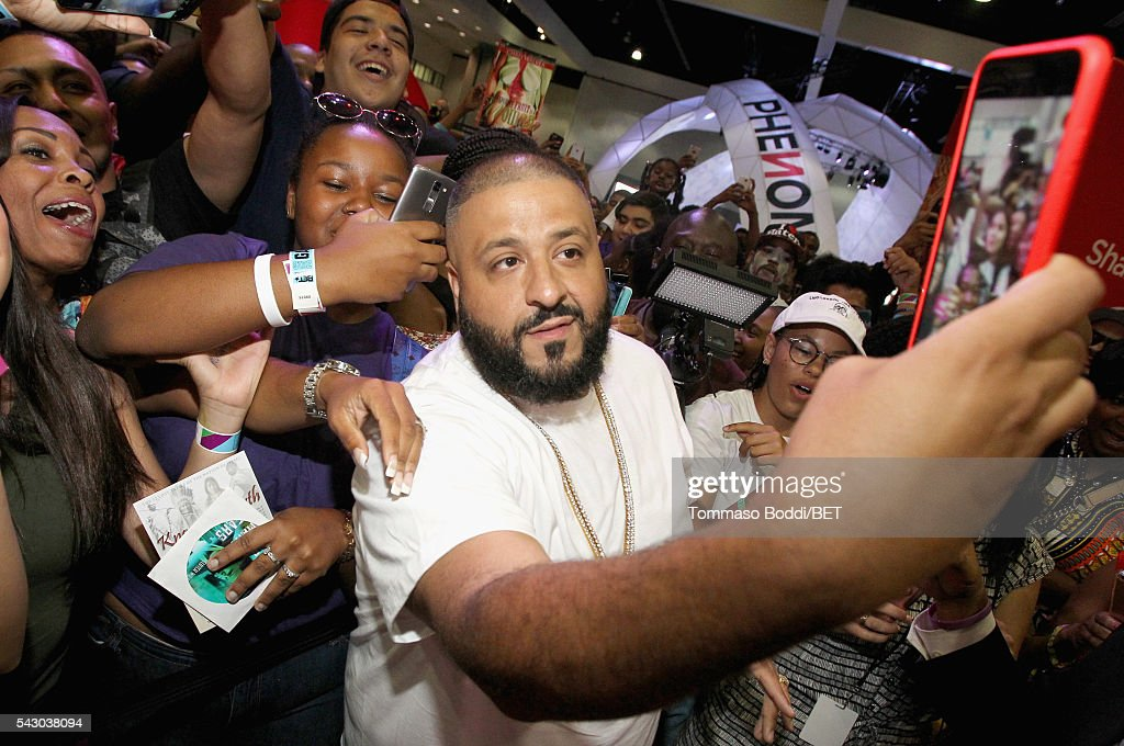 DJ Khaled attends the Coke music studio during the 2016 BET Experience on June 25, 2016 in Los Angeles, California.