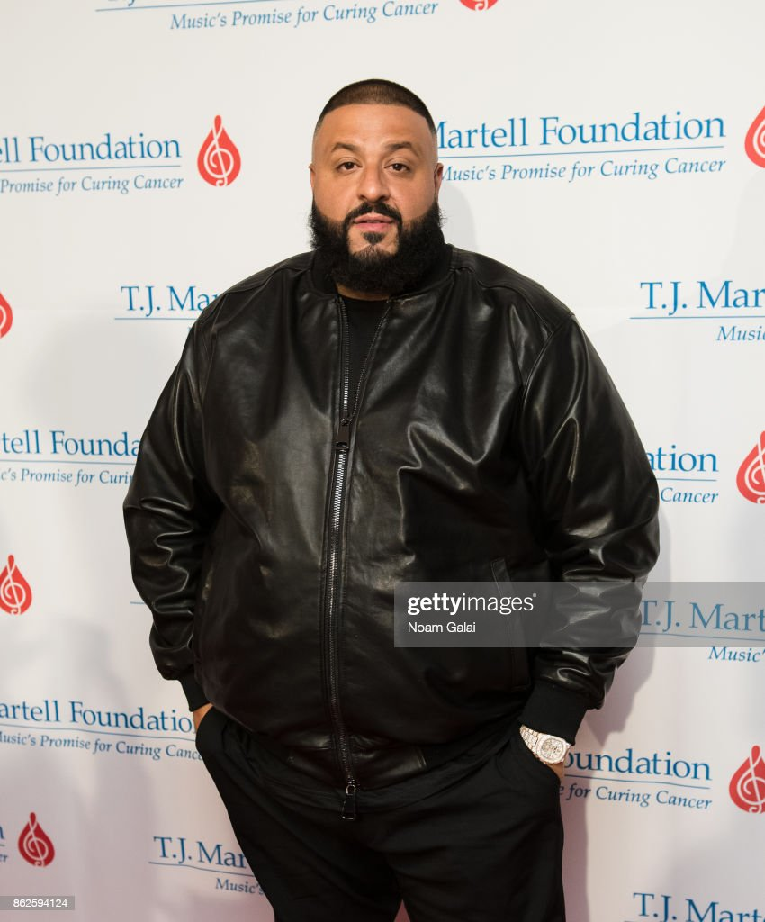 DJ Khaled attends the T.J. Martell 42nd Annual New York Honors Gala at Guastavino's on October 17, 2017 in New York City.