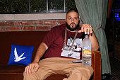 Khaled attends UrbanDaddy Presents Grey Goose Le Melon Fruit Of Kings New York City on August 13 2014 in New York City