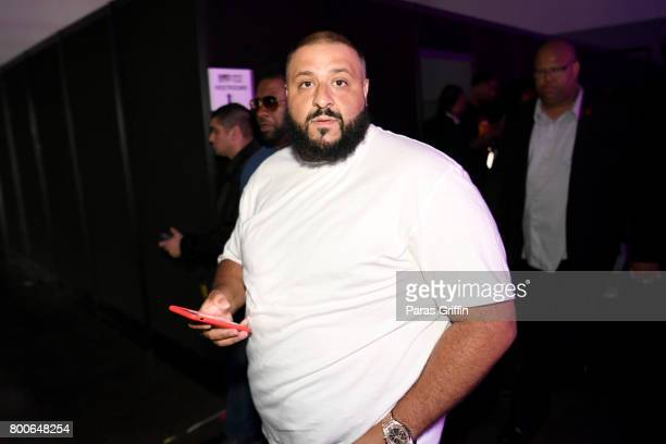 Khaled backstage at the Main Stage Performances during the 2017 BET Experience at Los Angeles Convention Center on June 24 2017 in Los Angeles...