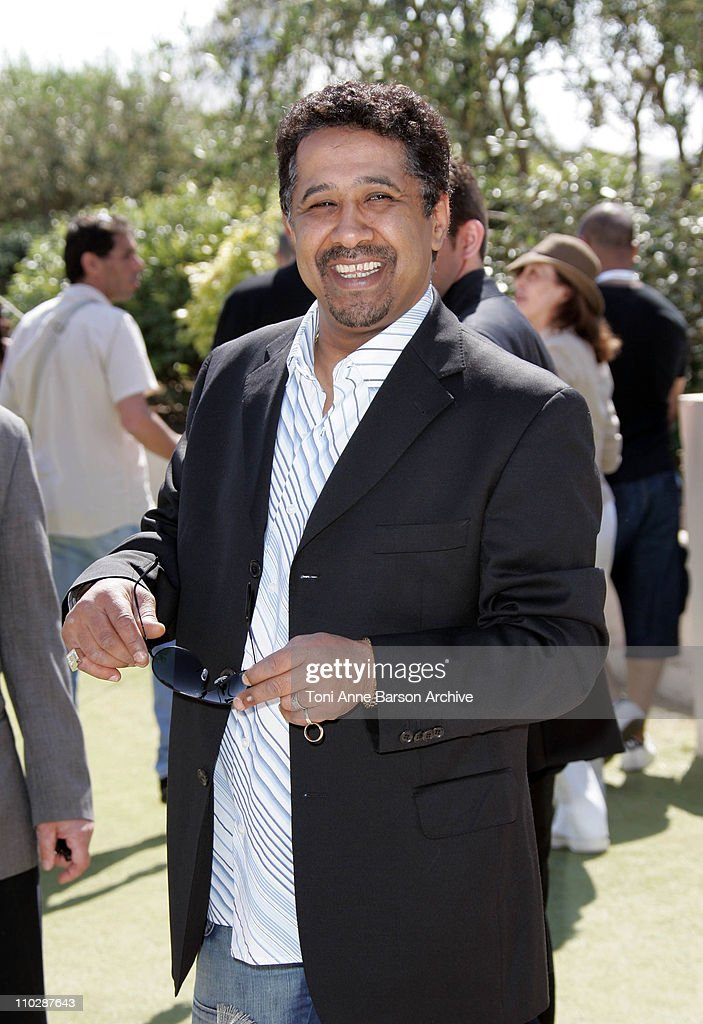 Khaled during 2006 Cannes Film Festival - 'Indigenes' - Photocall at Palais des Festival in Cannes, France.