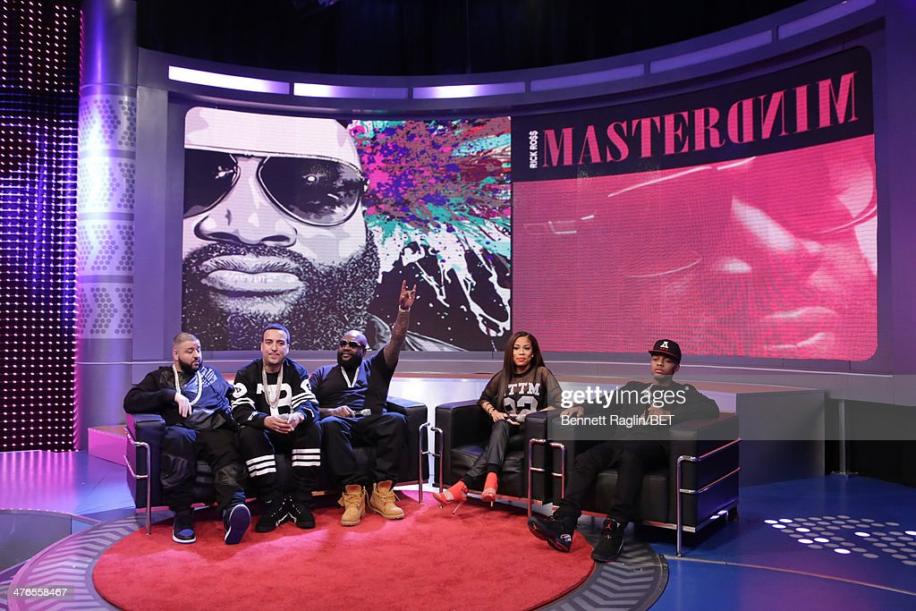 DJ Khaled, French Montana, Rick Ross, Keshia Chante, and Bow Wow attend 106 & Parkat BET studio on March 3, 2014 in New York City.