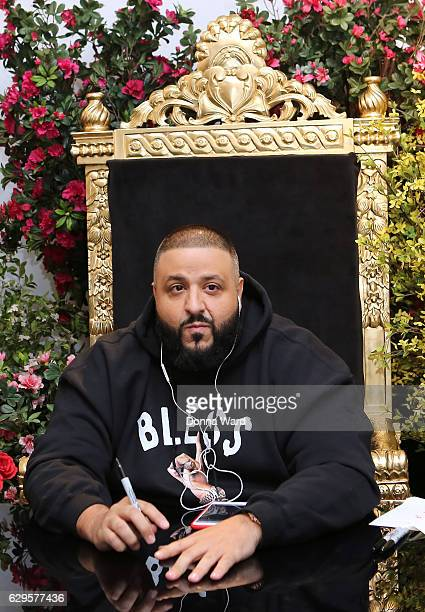 Khaled hosts the Massive Palmer's Capsule Collection #FanLuv Event on December 13 2016 in New York City