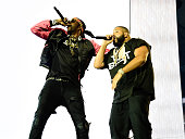 Khaled opens with rapper 2 Chainz for Beyonce during 'The Formation World Tour' at Georgia Dome on May 1 2016 in Atlanta Georgia