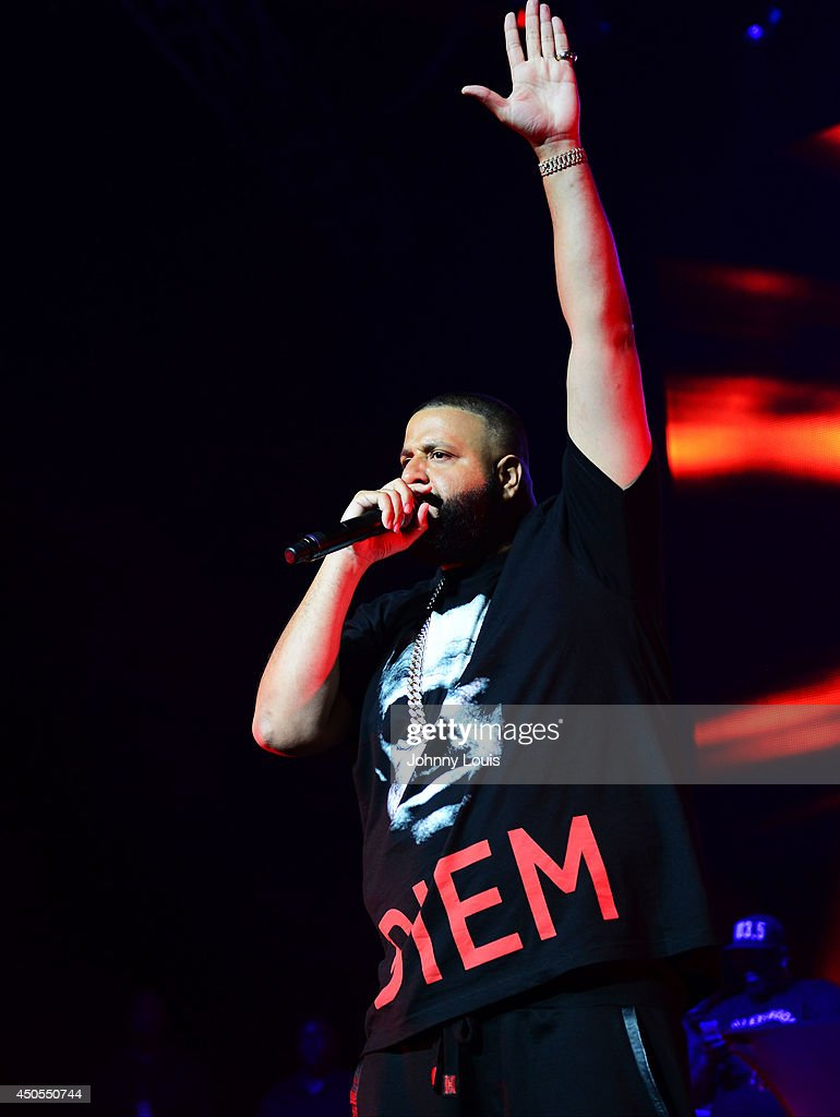 <a gi-track='captionPersonalityLinkClicked' href=/galleries/search?phrase=DJ+Khaled&family=editorial&specificpeople=577862 ng-click='$event.stopPropagation()'>DJ Khaled</a> performs during the 103.5 The Beat Down concert at BB&T Center on June 12, 2014 in Sunrise, Florida.