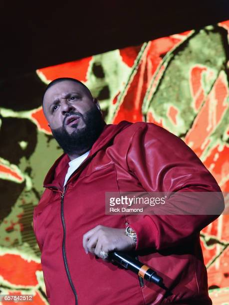 Khaled performs during V103 Live Pop Up Concert at Philips Arena on March 25 2017 in Atlanta Georgia