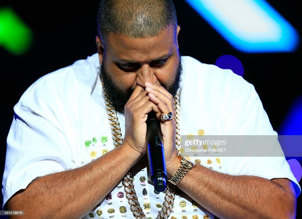 DJ Khaled performs onstage at the OutKast, A$AP Rocky, Rick Ross, K. Michelle, August Alsina & Ty Dolla $ign Presented By Sprite during the 2014 BET Experience At L.A. LIVE on June 28, 2014 in Los Angeles, California.