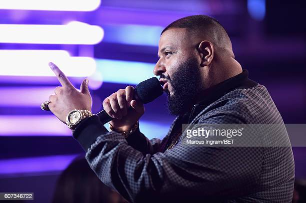 Khaled performs onstage during the 2016 BET Hip Hop Awards at Cobb Energy Performing Arts Center on September 17 2016 in Atlanta Georgia