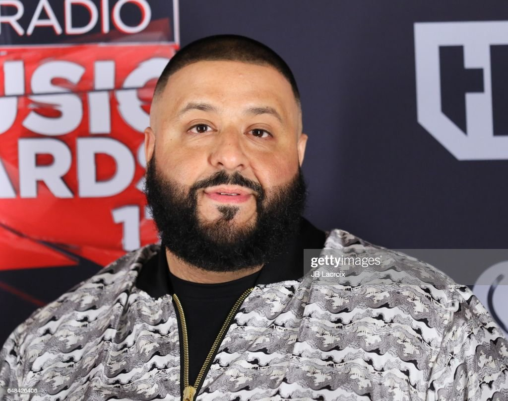 DJ Khaled poses during the 2017 iHeartRadio Music Awards at The Forum on March 5, 2017 in Inglewood, California.