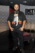 Khaled poses during the Genius Talks sponsored by ATT during the 2016 BET Experience on June 25 2016 in Los Angeles California