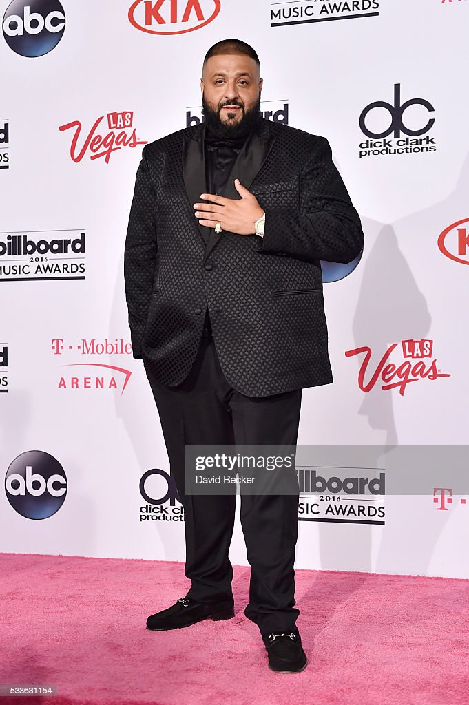 Khaled poses in the press room during the 2016 Billboard Music Awards at TMobile Arena on May 22 2016 in Las Vegas Nevada