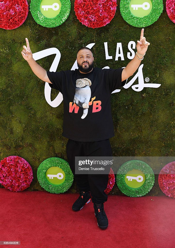 Khaled receives key to the Las Vegas strip and launches official snapchat channel at the Venetian Hotel and Casino on May 29 2016 in Las Vegas Nevada
