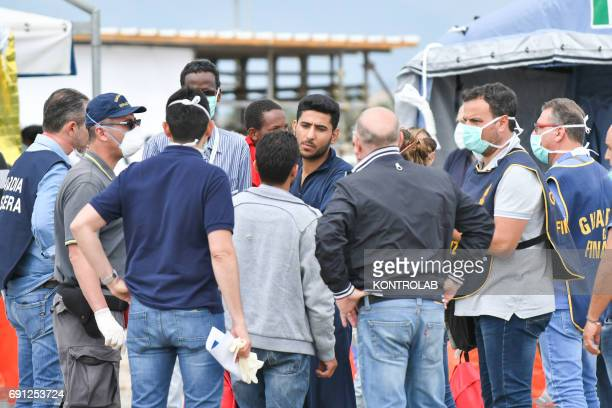 Khaled Thaled 24yearold Syrian arrested in Corigliano during disembarkation by ship Vos Hestia and arrested on May 31 2017 following investigations...