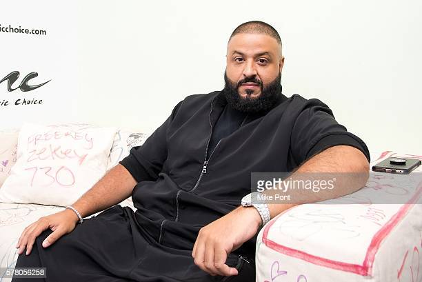 Khaled visits Music Choice on July 20 2016 in New York City