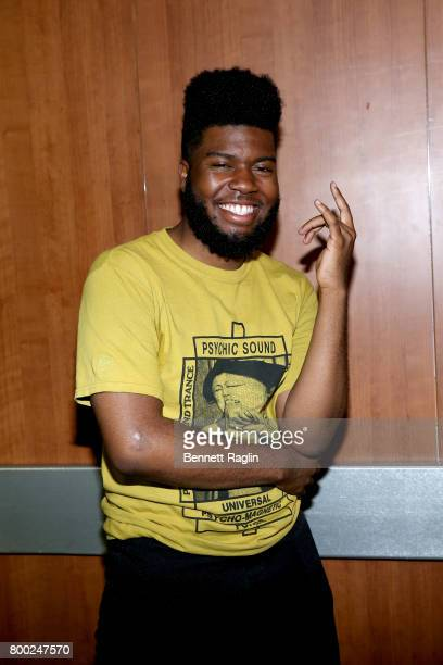 Khalid at night two of the STAPLES Center Concert presented by CocaCola during the 2017 BET Experience at LA Live on June 23 2017 in Los Angeles...