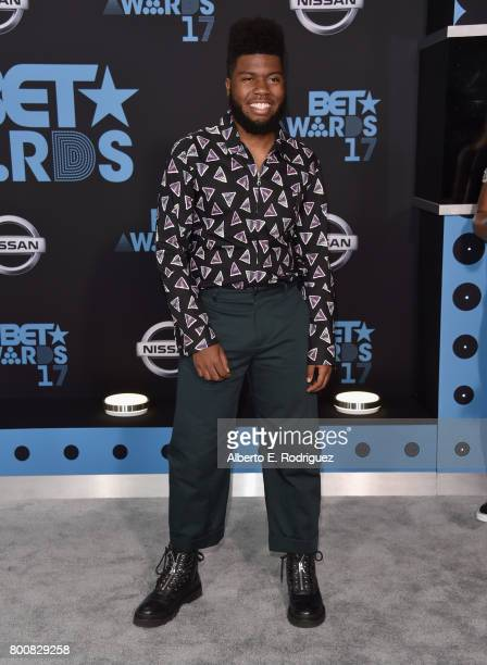 Khalid at the 2017 BET Awards at Microsoft Square on June 25 2017 in Los Angeles California