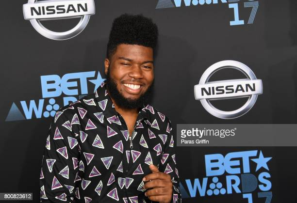 Khalid at the 2017 BET Awards at Staples Center on June 25 2017 in Los Angeles California