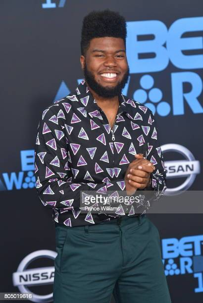 Khalid attends the 2017 BET Awards at Microsoft Theater on June 25 2017 in Los Angeles California