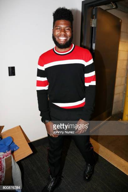 Khalid backstage at the 2017 BET Awards at Microsoft Theater on June 25 2017 in Los Angeles California