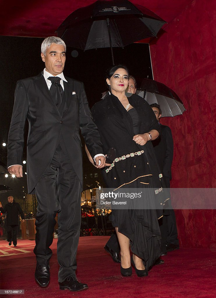Khalid Benchegra attends the opening ceremony of the 12th Marrakech international Film Festival on November 30, 2012 in Marrakech, Morocco.