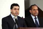 Khalifa alGhwell Prime minister of the Libyan Tripolibased National Salvation Government Minister of the Interior in the Salvation Government...
