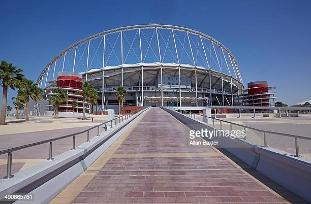 Khalifa International stadium in Doha