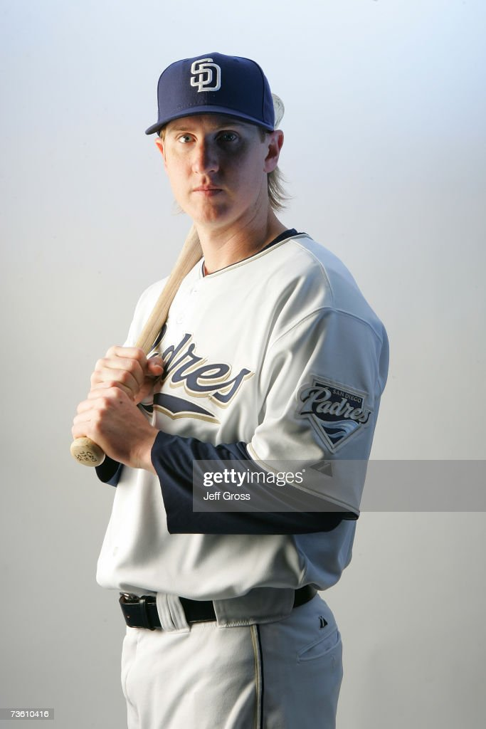 Khalil Greene of the San Diego Padres poses for a portrait during San Diego Padres Photo Day at the Peoria Sports Complex on February 23, 2007 in Peoria, Arizona.