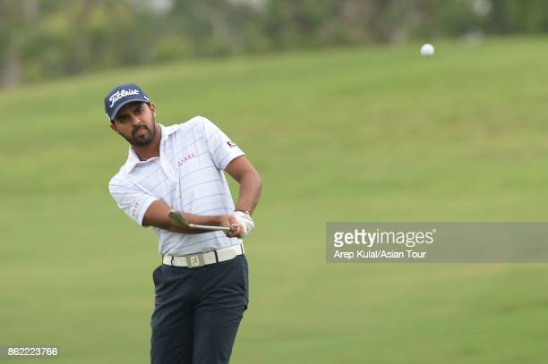 Khalin Joshi of India pictured during practice ahead of the Macao Open at Macau Golf and Country Club on October 17 2017 in Macau Macau