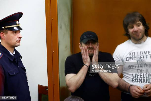Khamzat Bakhayev and Temirlan Eskerkhanov who are convicted of organizing and carrying out the contract killing of opposition leader Boris Nemtsov...