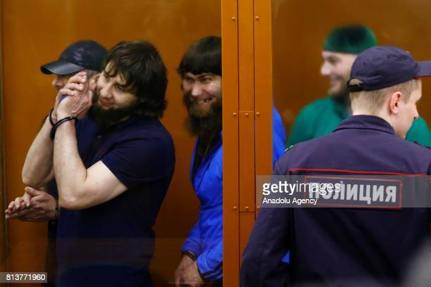 Khamzat Bakhayev Temirlan Eskerkhanov Shadid Gubashev Anzor Gubashev and Zaur Dadayev who are convicted of organizing and carrying out the contract...