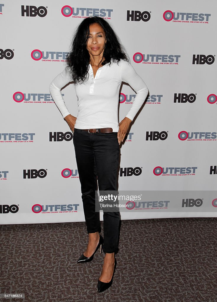 Khandi Alexander attends the Outfest screening of 'Pushing Dead' at Director's Guild of America on July 13 2016 in West Hollywood California