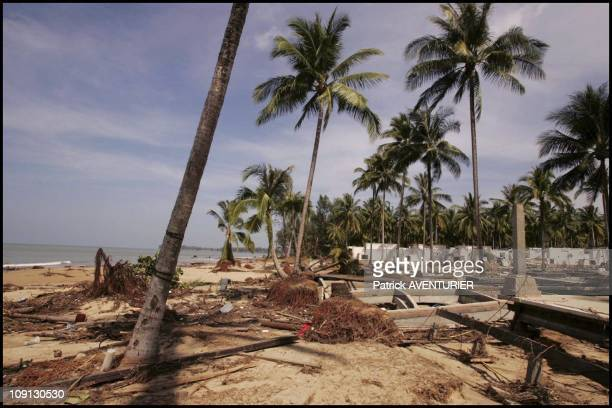 Khao Lak'S Hotel Sofitel Devastated By Tidal Wave That Struck Seven Countries After Powerful Dec 26 Earthquake Off Sumatra On December 29 2004 In...