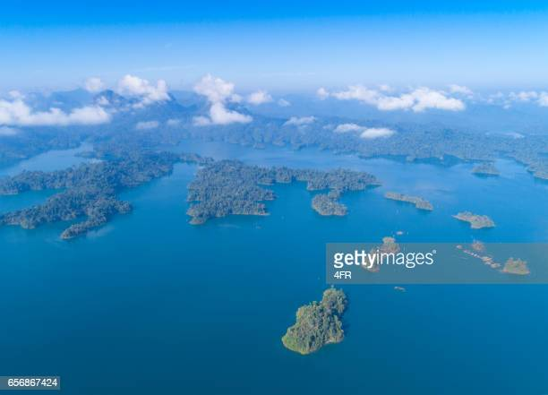 カオ ・ ソック国立公園は、湖 Ratchaprapha、タイ