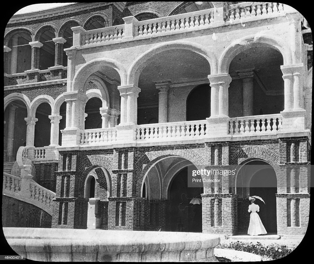 Khartoum Palace Sudan c1890 The site of the death of General Charles George Gordon British GovernorGeneral of Sudan who was killed by Mahdist...