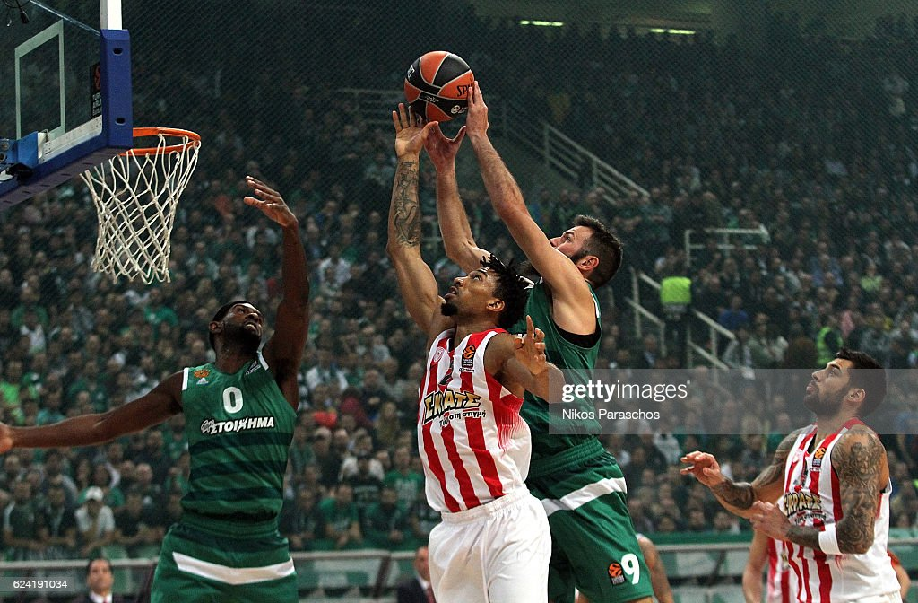 Panathinaikos Superfoods Athens v Olympiacos Piraeus - Turkish Airlines Euroleague