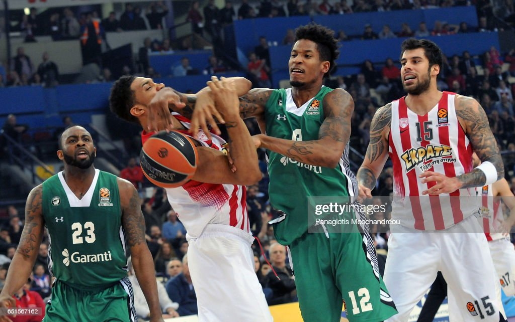 Olympiacos Piraeus v Darussafaka Dogus Istanbul - Turkish Airlines Euroleague