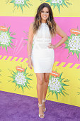 Khloe Kardashian arrives at Nickelodeon's 26th Annual Kids' Choice Awards at USC Galen Center on March 23 2013 in Los Angeles California