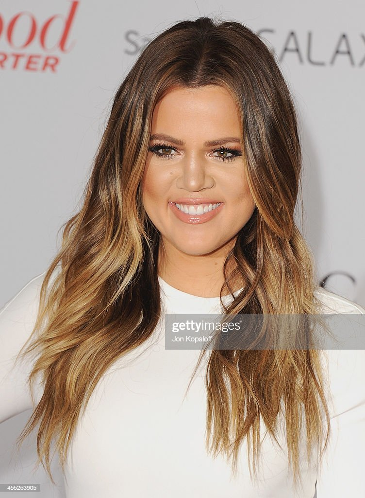 Khloe Kardashian arrives at The Hollywood Reporter's 22nd Annual Women In Entertainment Breakfast 2013 at Beverly Hills Hotel on December 11, 2013 in Beverly Hills, California.