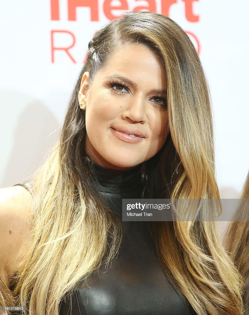 Khloe Kardashian arrives at the iHeartRadio Music Festival - press room - Day 2 held on September 21, 2013 in Las Vegas, Nevada.