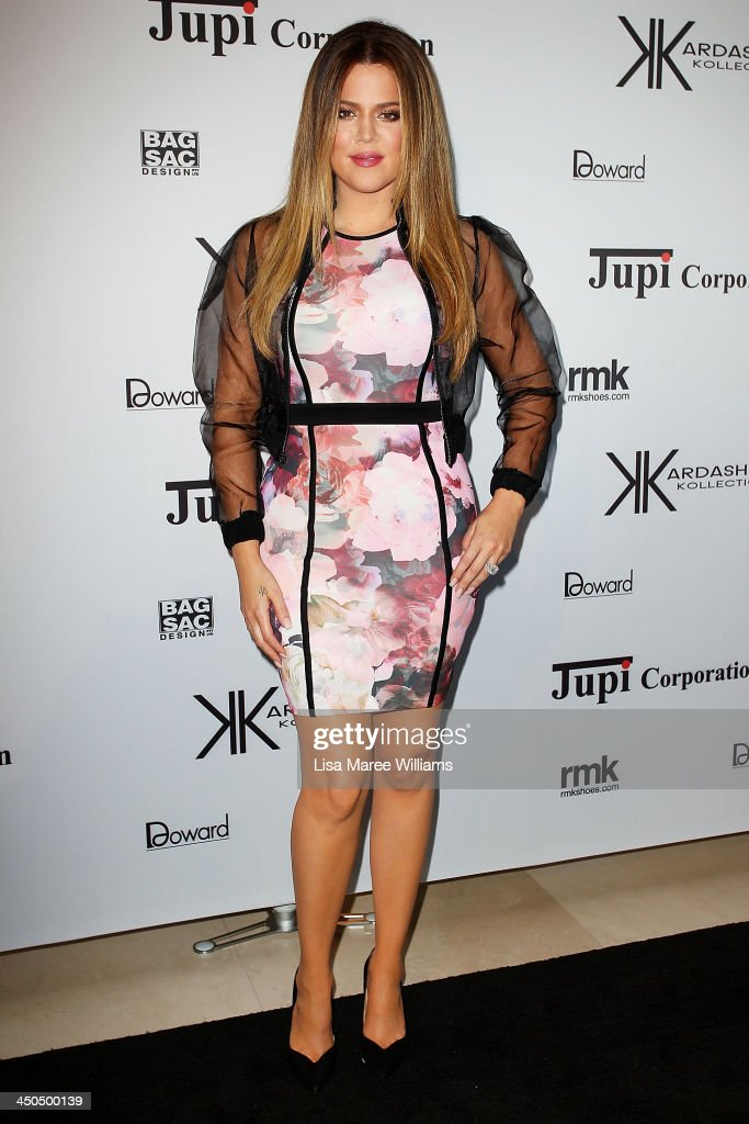 <a gi-track='captionPersonalityLinkClicked' href=/galleries/search?phrase=Khloe+Kardashian&family=editorial&specificpeople=3955023 ng-click='$event.stopPropagation()'>Khloe Kardashian</a> arrives at the Kardashian Kollection cocktail party at the Park Hyatt Guest House on November 19, 2013 in Sydney, Australia.