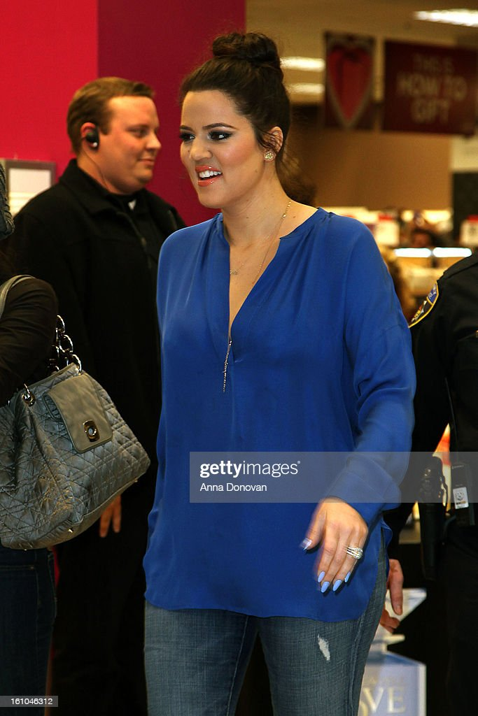 <a gi-track='captionPersonalityLinkClicked' href=/galleries/search?phrase=Khloe+Kardashian&family=editorial&specificpeople=3955023 ng-click='$event.stopPropagation()'>Khloe Kardashian</a> arrives at the 'Unbreakable Love' fragrance launch with <a gi-track='captionPersonalityLinkClicked' href=/galleries/search?phrase=Khloe+Kardashian&family=editorial&specificpeople=3955023 ng-click='$event.stopPropagation()'>Khloe Kardashian</a>-Odom and Lamar Odom at Sears on February 8, 2013 in Downey, California.